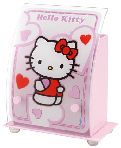 hello kitty tischlampe 35251 hello kitty kinderlampe kinderzimmer lampe leuchte ebay. Black Bedroom Furniture Sets. Home Design Ideas
