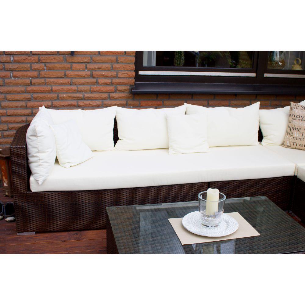 auflagen polster sitzpolster f r lounge auf ma abziehbar dralon wasserabweisend ebay. Black Bedroom Furniture Sets. Home Design Ideas