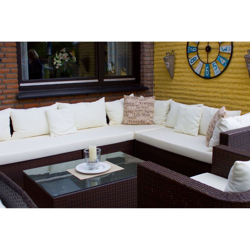 Gartenmöbel Auflagen Polster Sitzkissen Rattan Lounge Stuhl auf Maß