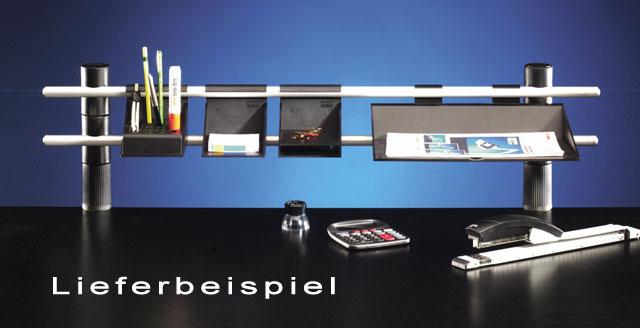 schreibtischset 120 cm schreibtisch ablage ablageset ebay. Black Bedroom Furniture Sets. Home Design Ideas