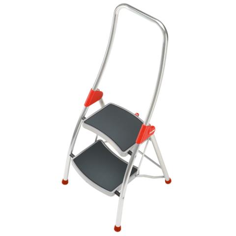 leiter ergo 4007126439277 klapptritt 2 stufen anti rutsch b gel 4392 501 hailo. Black Bedroom Furniture Sets. Home Design Ideas