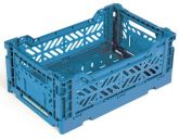 Klappbox 10 Stk. Mini 26,6 x 17,1 x 10,5 cm blau Stapelkiste Transportbox