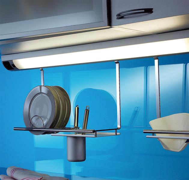 corner langfeldleuchte unterbauleuchte 1000 mm beleuchtung k che ebay. Black Bedroom Furniture Sets. Home Design Ideas