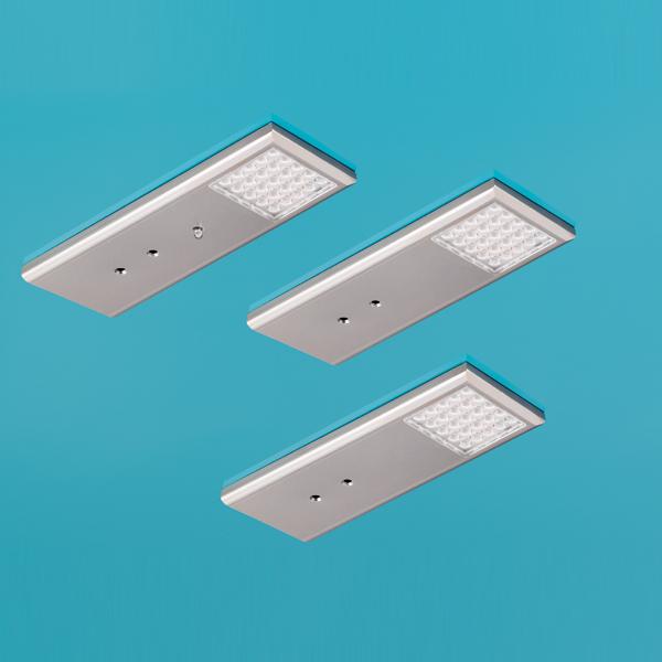 led leuchte intorno l2 led set 3 unterbau k che lumica 7061008 ebay. Black Bedroom Furniture Sets. Home Design Ideas