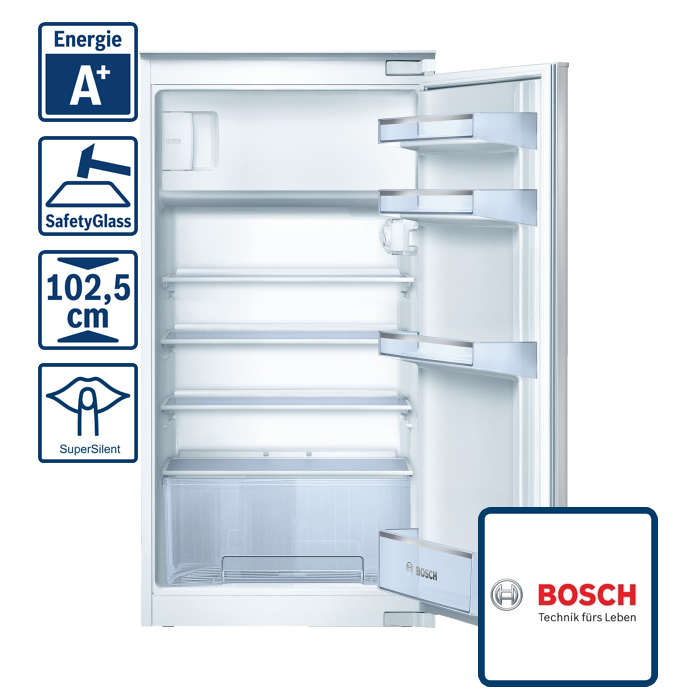 bosch kil20v21ff einbau k hlschrank mit gefrierfach 102 5er nische a ebay. Black Bedroom Furniture Sets. Home Design Ideas