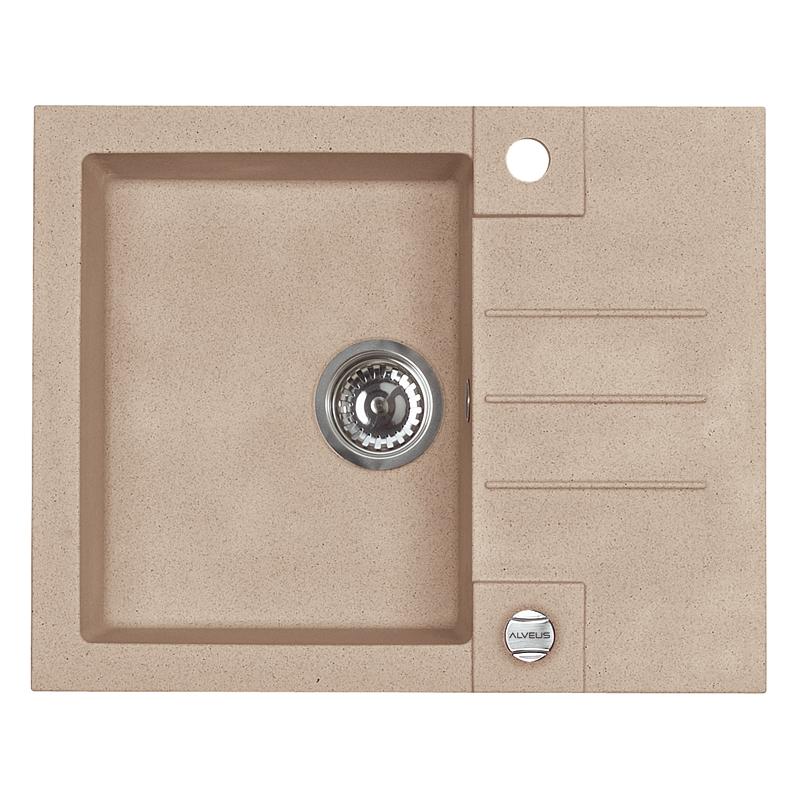 granitsp le einbausp le rock 30 k chensp le sp lbecken beige ebay. Black Bedroom Furniture Sets. Home Design Ideas
