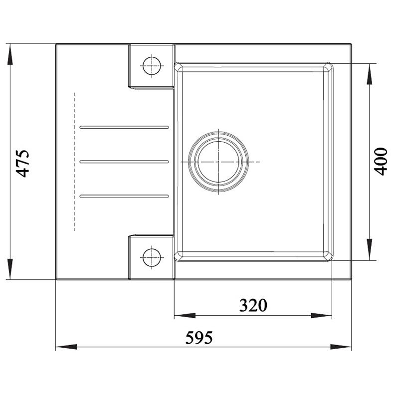 granitsp le einbaup le rock 30 k chensp le sp lbecken schwarz kleine sp le ebay. Black Bedroom Furniture Sets. Home Design Ideas
