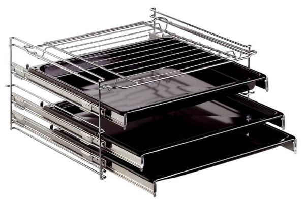 3 fach teleskopauszug f r amica herd backofen ebay. Black Bedroom Furniture Sets. Home Design Ideas