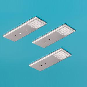 Küchenbeleuchtung unterbau led  LED Leuchte Intorno L1 LED Set 3 Küche Unterbau Lampe Lumica | eBay