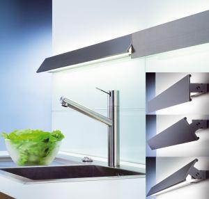planato e langfeldleuchte l nge unterbauleuchte edelstahl 600 900 1200cm ebay. Black Bedroom Furniture Sets. Home Design Ideas