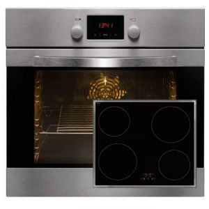 Amica backofen set mit induktionskochfeld induktion herd for Backofen mit induktion