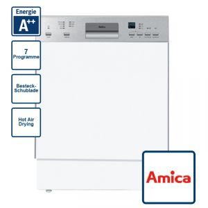 Amica EGSP 14385 E Geschirrspüler - 60 cm teilintegriert A++