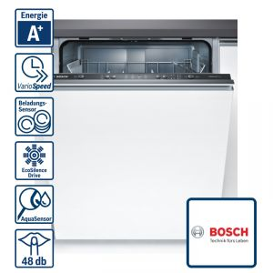 bosch smv41d00eu geschirrsp ler a vollintegriert 60 cm sp ler sp lmaschine ebay. Black Bedroom Furniture Sets. Home Design Ideas