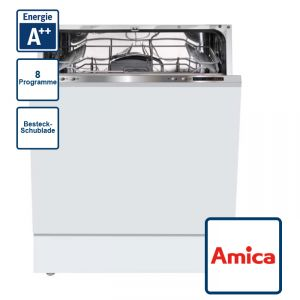 Amica EGSP 14386 V Geschirrspüler - 60 cm vollintegriert A++