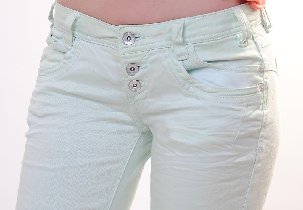 buena vista damen jeans spray mint ebay. Black Bedroom Furniture Sets. Home Design Ideas