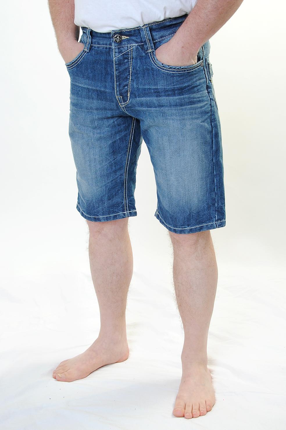 blue monkey herren jeans shorts bermuda bm 2003. Black Bedroom Furniture Sets. Home Design Ideas