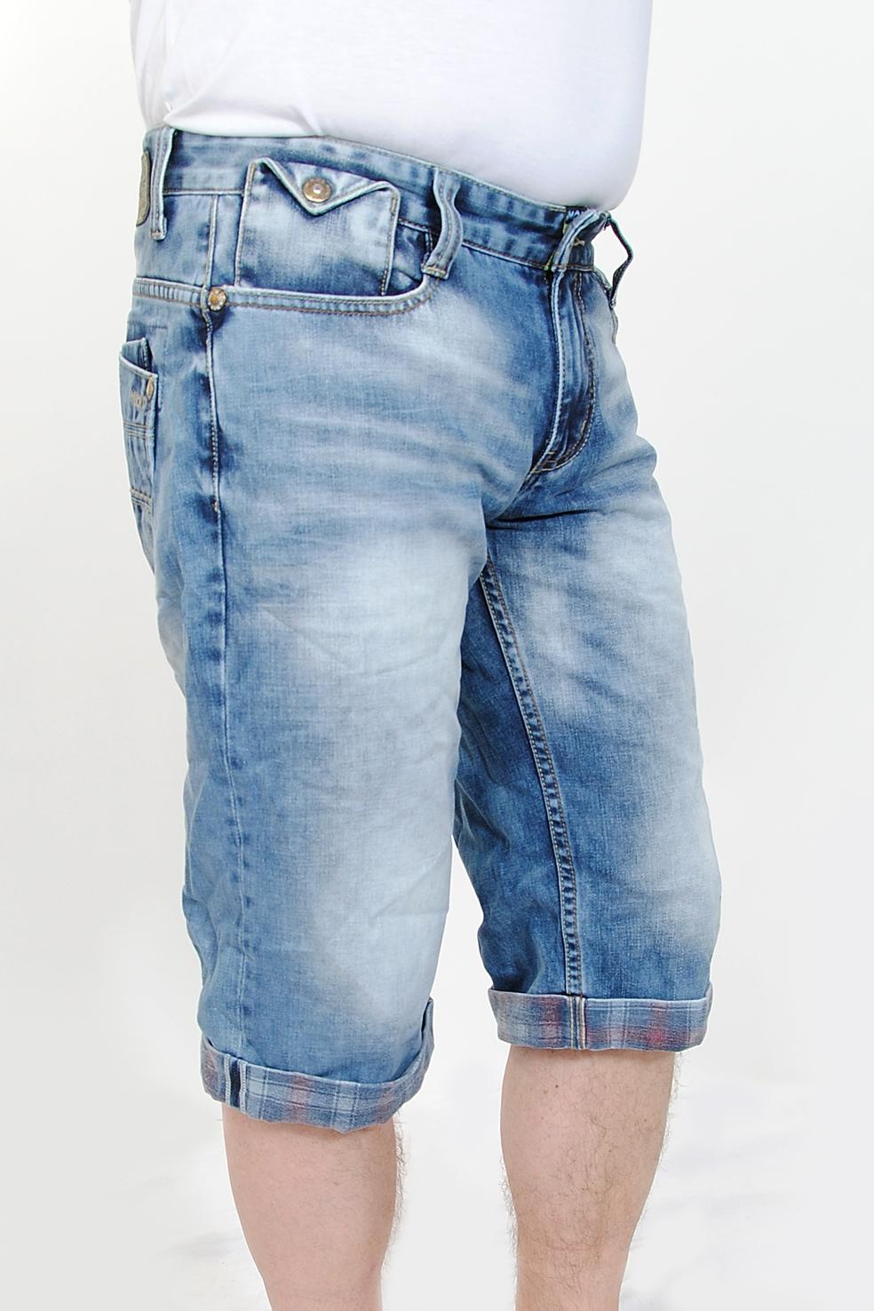 m o d herren bermuda jeans benji crocus blue ebay. Black Bedroom Furniture Sets. Home Design Ideas