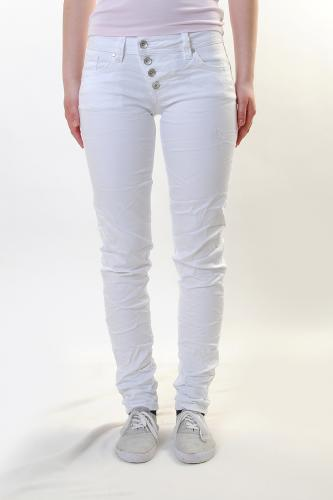 buena vista damen stretch jeans malibu used white j5001. Black Bedroom Furniture Sets. Home Design Ideas