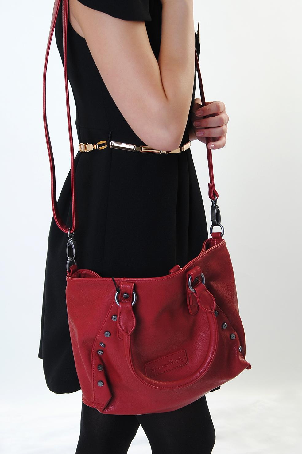 fritzi aus preu en ladies handbag shoulder bag holly ruby ebay. Black Bedroom Furniture Sets. Home Design Ideas