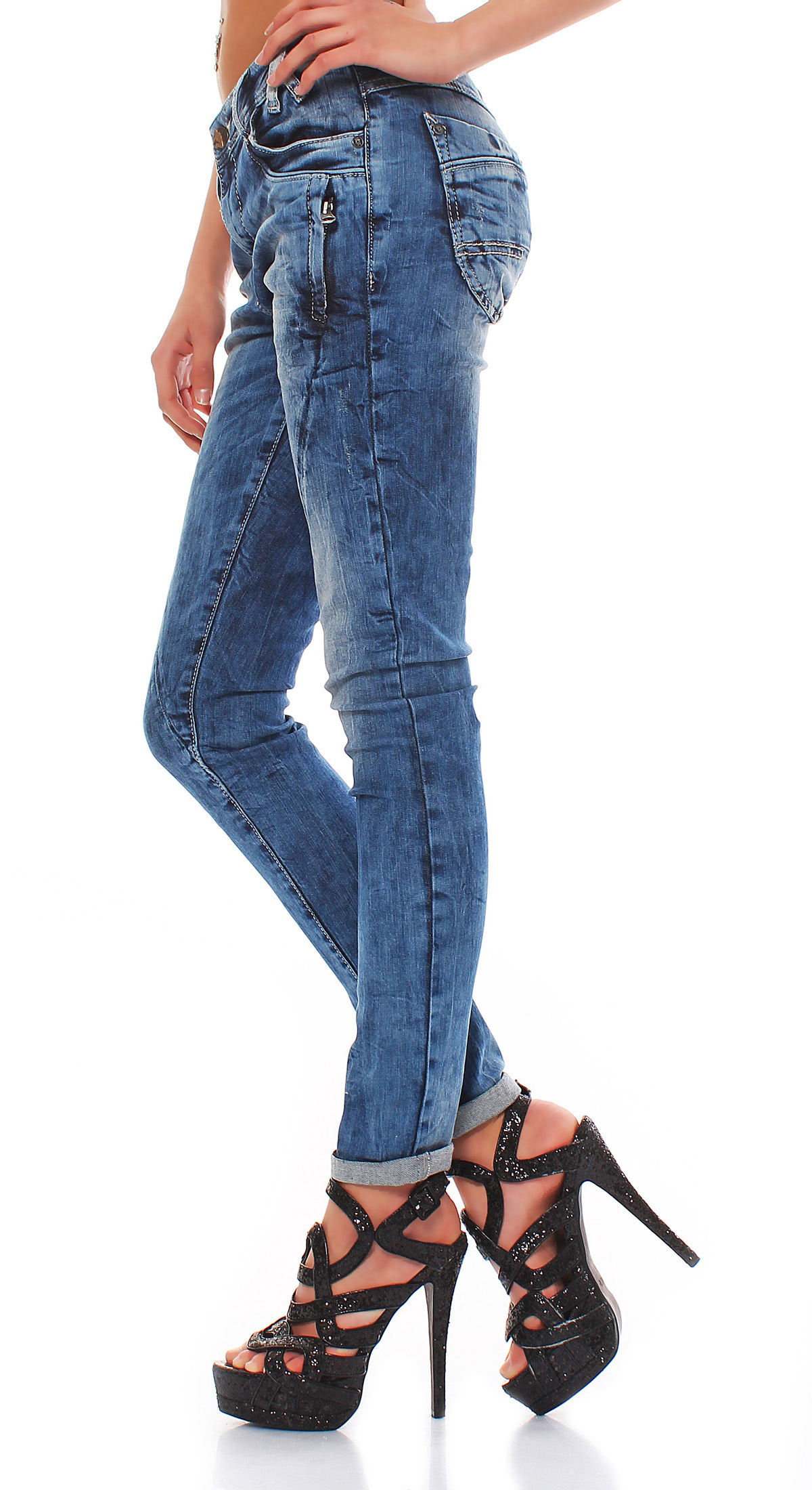 cipo baxx damen jeans cbw 0661 ebay. Black Bedroom Furniture Sets. Home Design Ideas