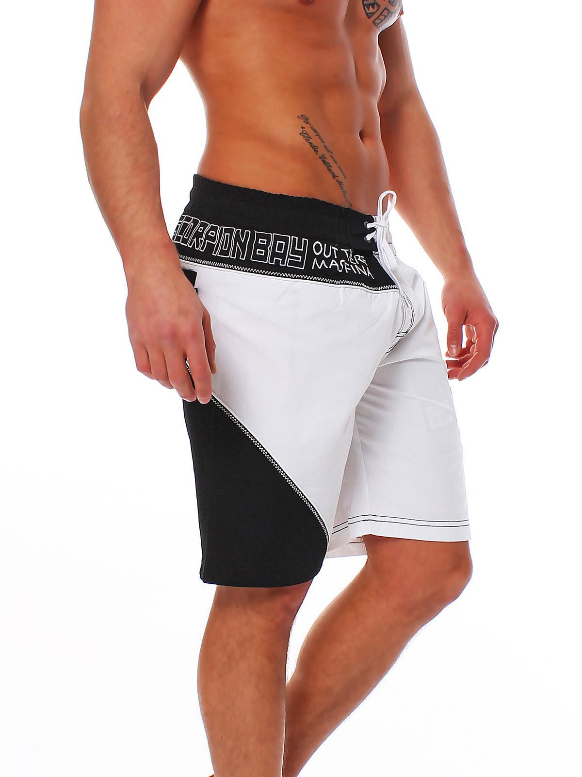 Scorpion bay bagno maschile hort short calzoncini da bagno board short jam 2926 ebay - Uomini in costume da bagno ...