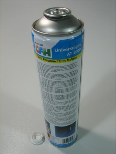 gaskartusche propan butangas euroschraubgewinde at2000. Black Bedroom Furniture Sets. Home Design Ideas