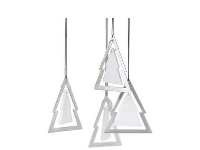 weihnachtsbaumschmuck tannenbaum edelstahl. Black Bedroom Furniture Sets. Home Design Ideas