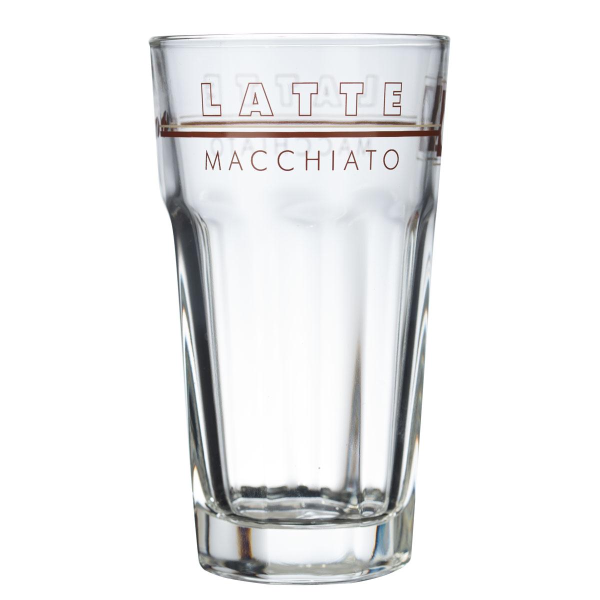 latte macchiato glas rastal 340 ml macchiato gl ser. Black Bedroom Furniture Sets. Home Design Ideas