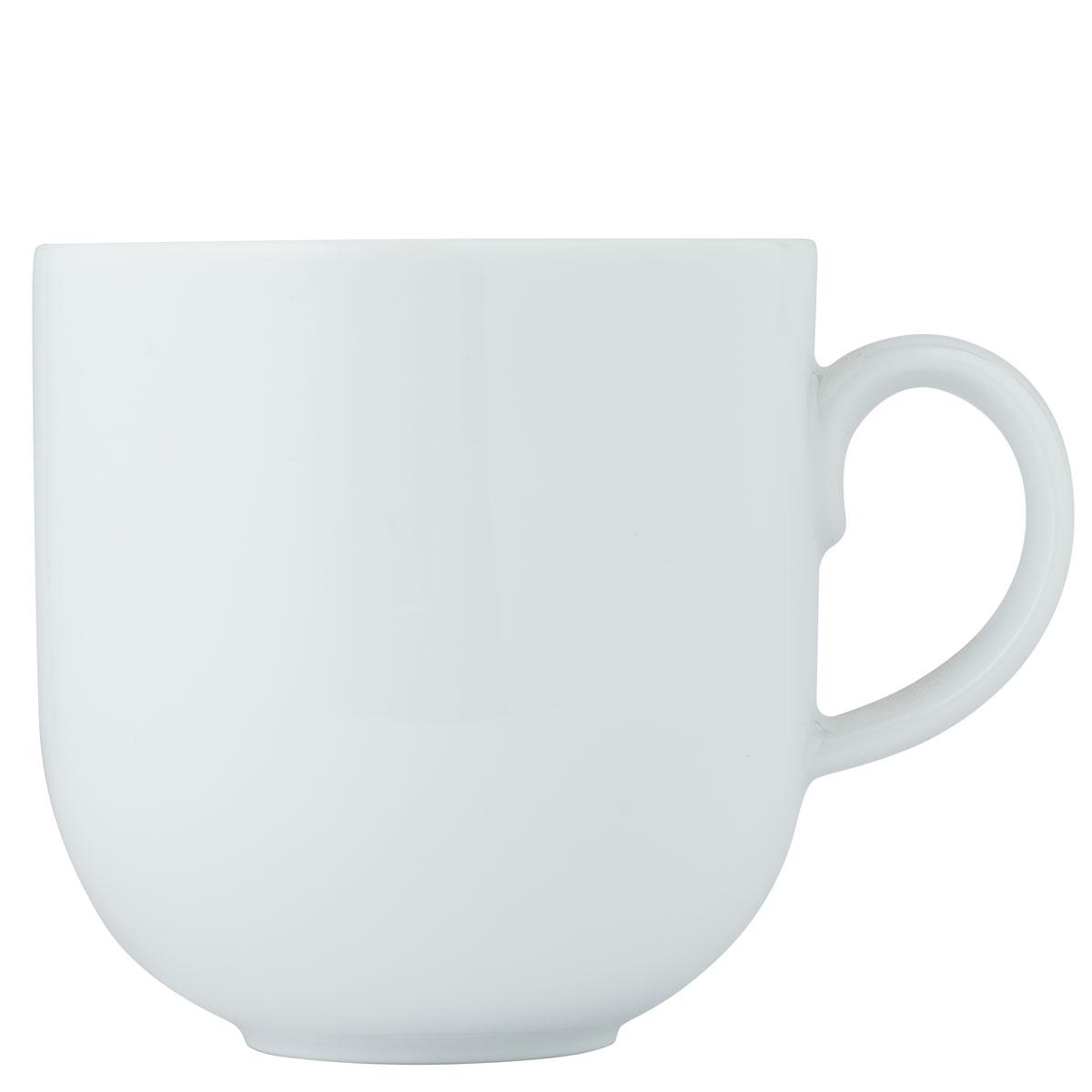 fischer tavola kaffeetasse 0 4 ltr kaffeebecher porzellan wei kaffeetassen ebay. Black Bedroom Furniture Sets. Home Design Ideas