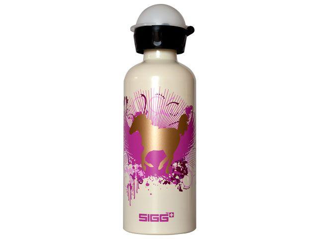 sigg flasche 0 6 ltr wild stallion kindertrinkflasche. Black Bedroom Furniture Sets. Home Design Ideas