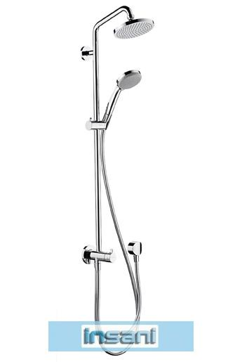 hansgrohe croma 100 showerpipe reno 27139 duschsystem. Black Bedroom Furniture Sets. Home Design Ideas
