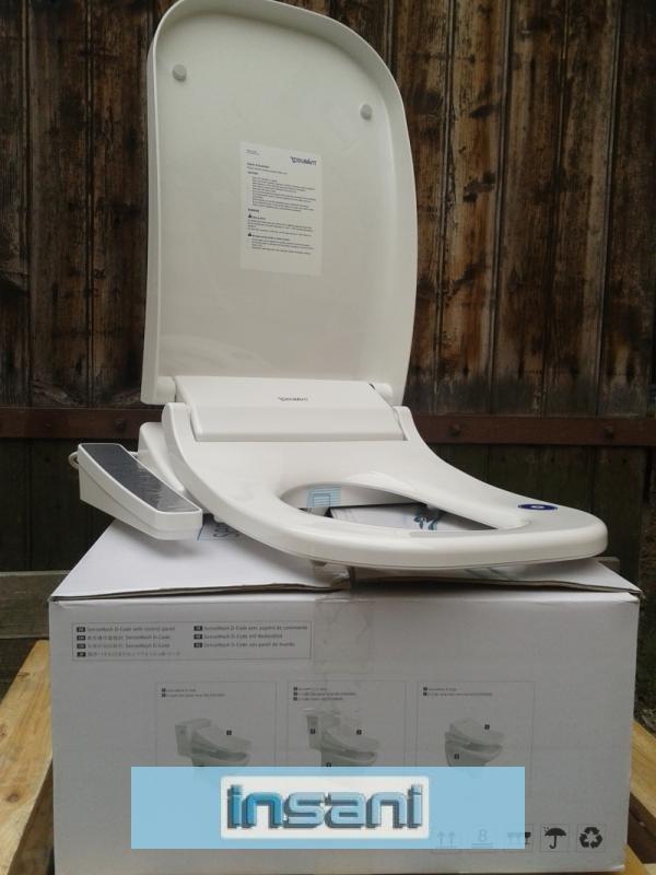 duravit d code sensowash dusch wc sitz weiss senso wash 610100002100200 ebay. Black Bedroom Furniture Sets. Home Design Ideas