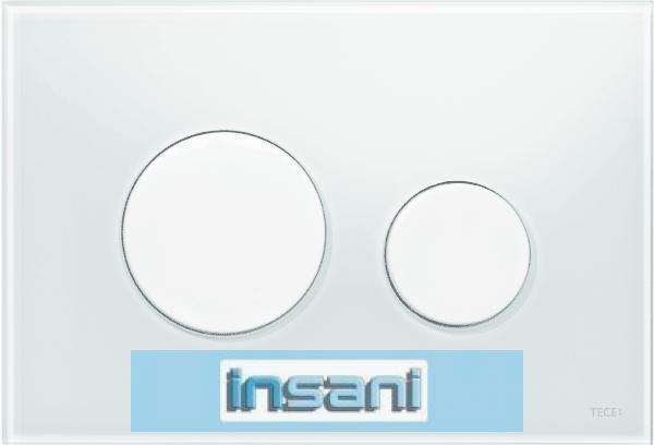 tece loop wc bet tigungsplatte glas wei tasten wei 9240650 ebay. Black Bedroom Furniture Sets. Home Design Ideas