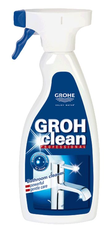 Grohe Grohclean Bath Cleaner Fixture Cleaner 500ml Spray 48166000 Ebay