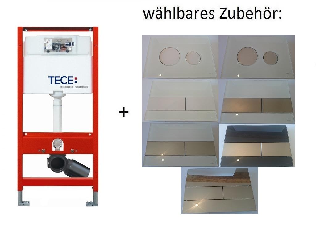 tece profil wc sp lkasten modul 1200 mm diverse bet tigungsplatten aus glas ebay. Black Bedroom Furniture Sets. Home Design Ideas