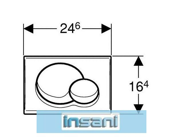 geberit samba bet tigungsplatte up 320 weiss 115770111 ebay. Black Bedroom Furniture Sets. Home Design Ideas