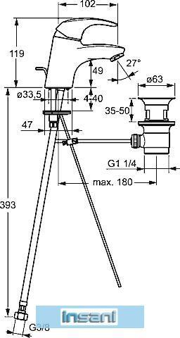 hansa pico hansapico waschtisch armatur verchromt 46042203 wasserhahn ebay. Black Bedroom Furniture Sets. Home Design Ideas