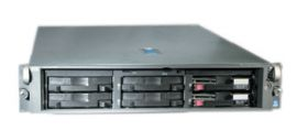 HP Proliant DL380 G3 1x 3.2 GHz CPU 1 GB RAM Server