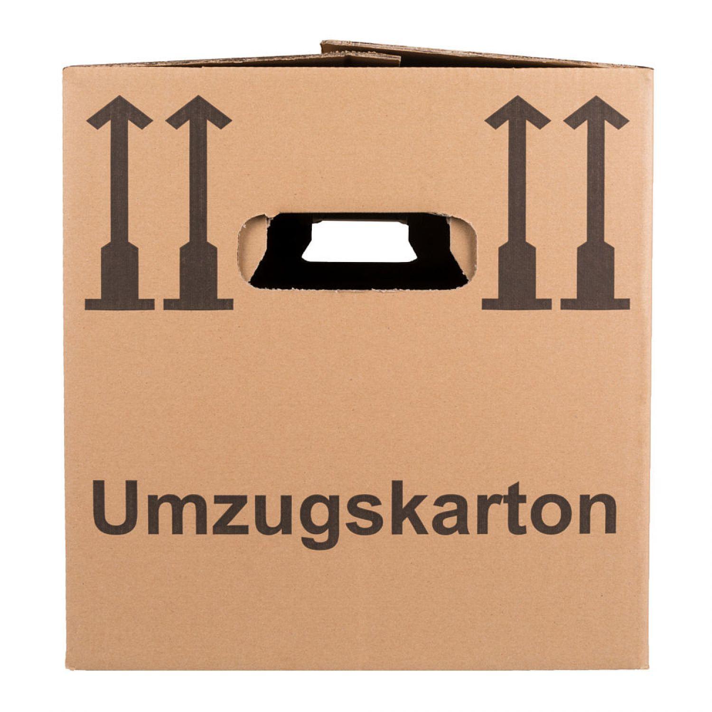50 neue umzugskartons frei haus 2 wellig 40kg traglast ebay. Black Bedroom Furniture Sets. Home Design Ideas