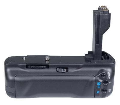 Batteriegriff 5D Mark II wie Canon BG-E6 + 2 LP-E6 Akku