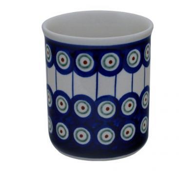 Original-Bunzlauer-Keramik-Becher-ohne-Henkel-Volumen-0-25-Liter-Dekor-8