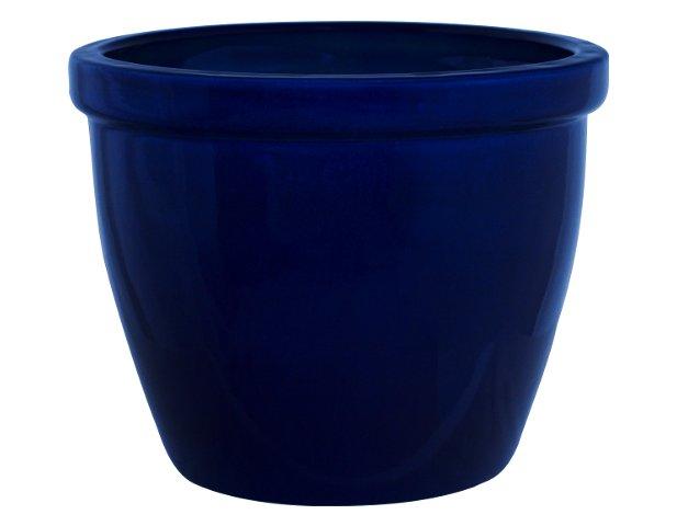 K&K Keramik Pflanzkübel / Blumentopf Venus II 40x32cm blau ...