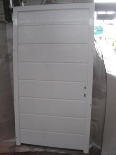 h rmann ecotherm nebent r garagent r nebeneingangst r 1115 x 2058 unbenutzt ebay. Black Bedroom Furniture Sets. Home Design Ideas