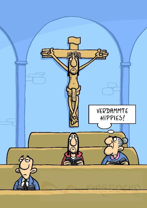 Kreuzigung Lustig