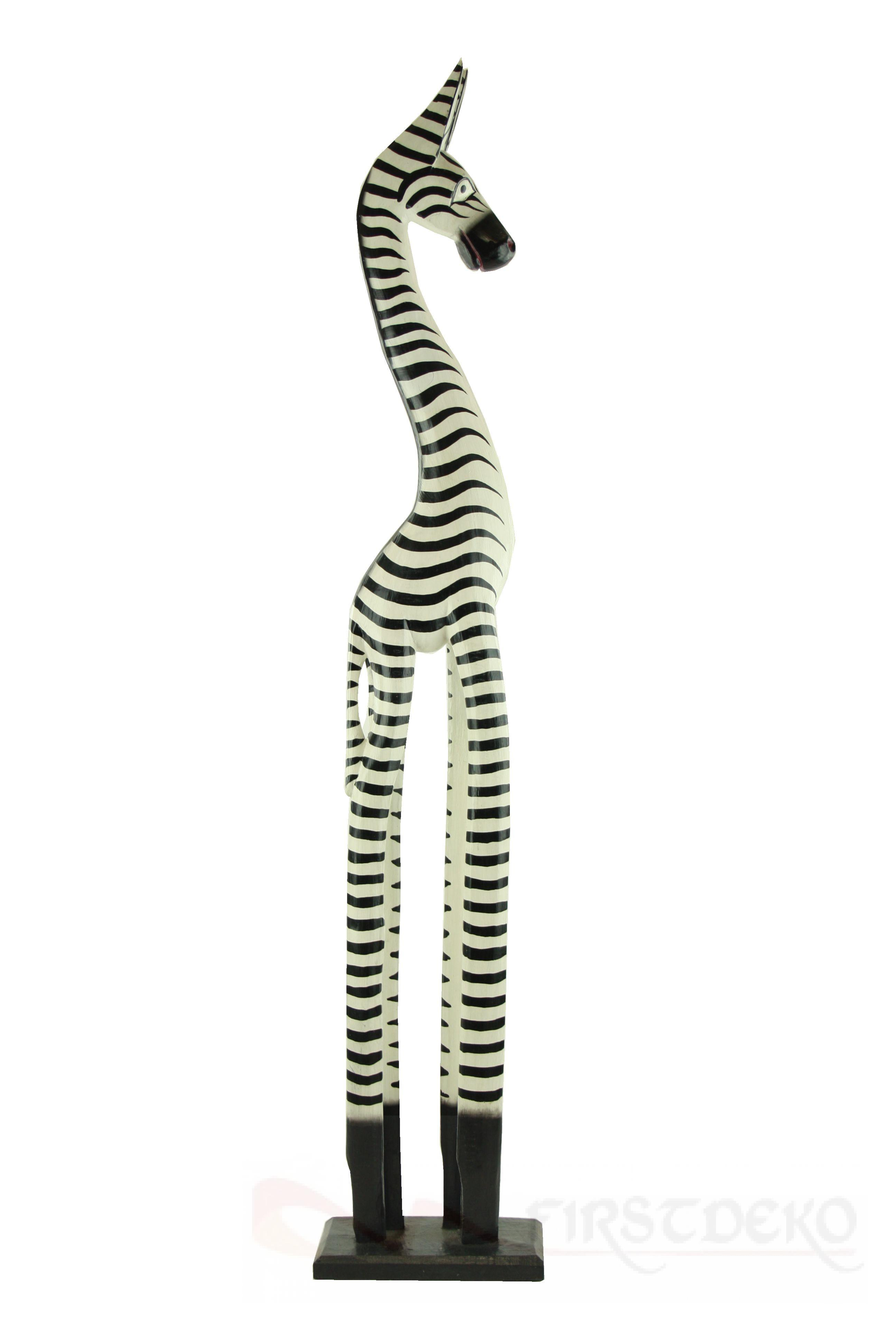 zebra afrika aus holz 60 cm afrikanische deko holzfigur. Black Bedroom Furniture Sets. Home Design Ideas