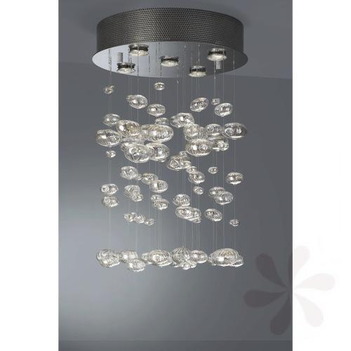 halogen pendelleuchte modern 5 flg calixa 374261113 ebay. Black Bedroom Furniture Sets. Home Design Ideas