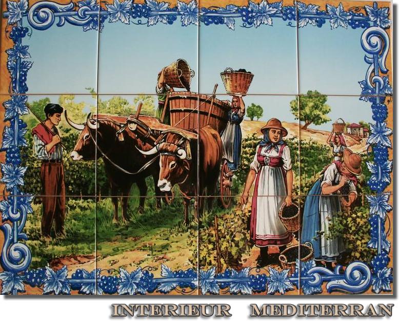 Kachel fliese  KACHEL FLIESE Keramik Motiv mit 12 Dekofliesen Wetterfest ...