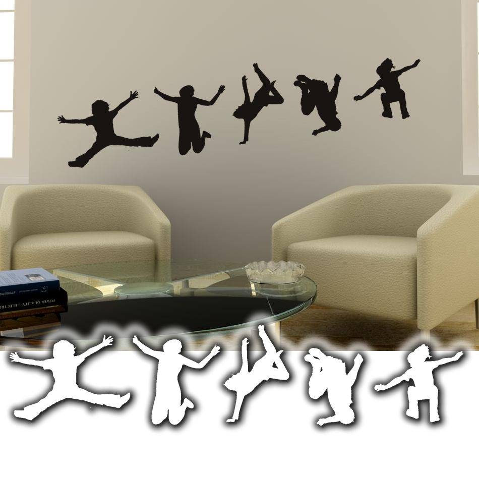 wandtattoo dance wandsticker tanzen tattoos f r die wand. Black Bedroom Furniture Sets. Home Design Ideas