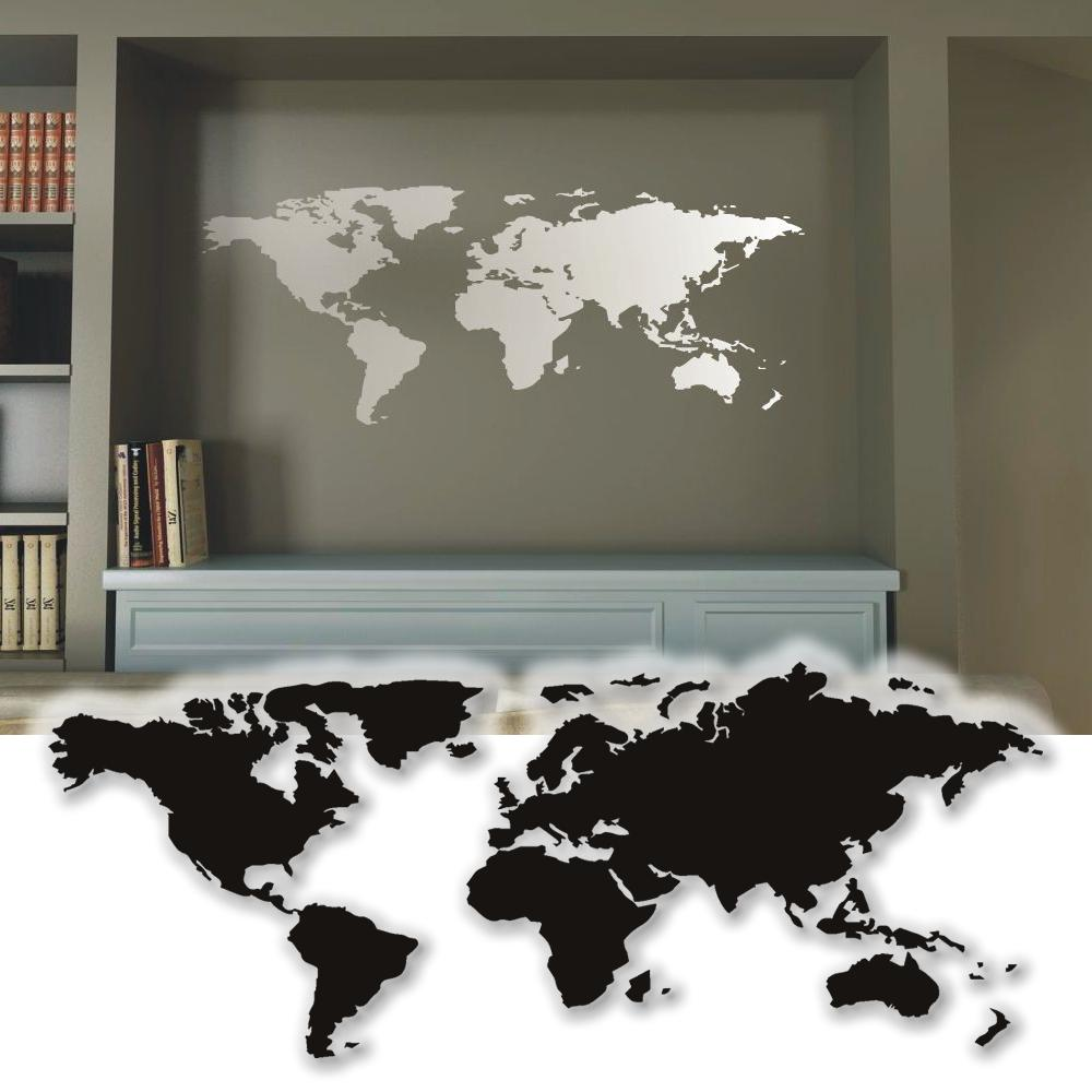 wandtattoo weltkarte wandsticker wand tattoo sticker wandtatoo ebay. Black Bedroom Furniture Sets. Home Design Ideas