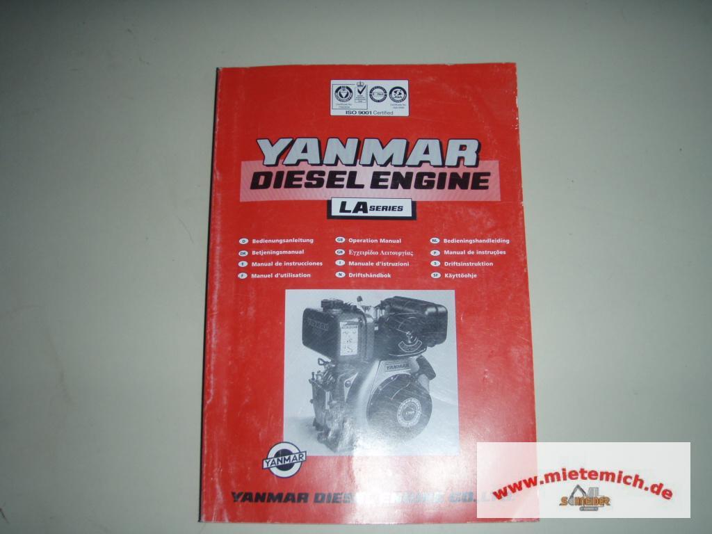 yanmar manual diesel engine la series operating L Series Yanmar Diesel Engine Manual yanmar diesel engine manual
